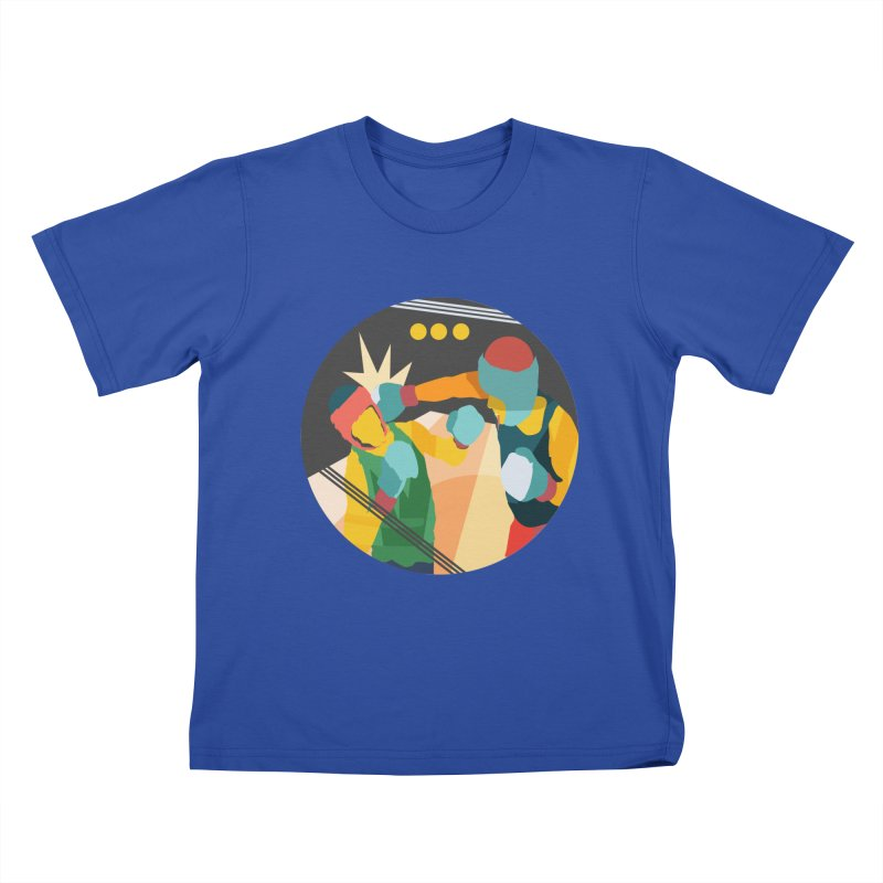Boxing Kids T-Shirt by · STUDI X-LEE ·