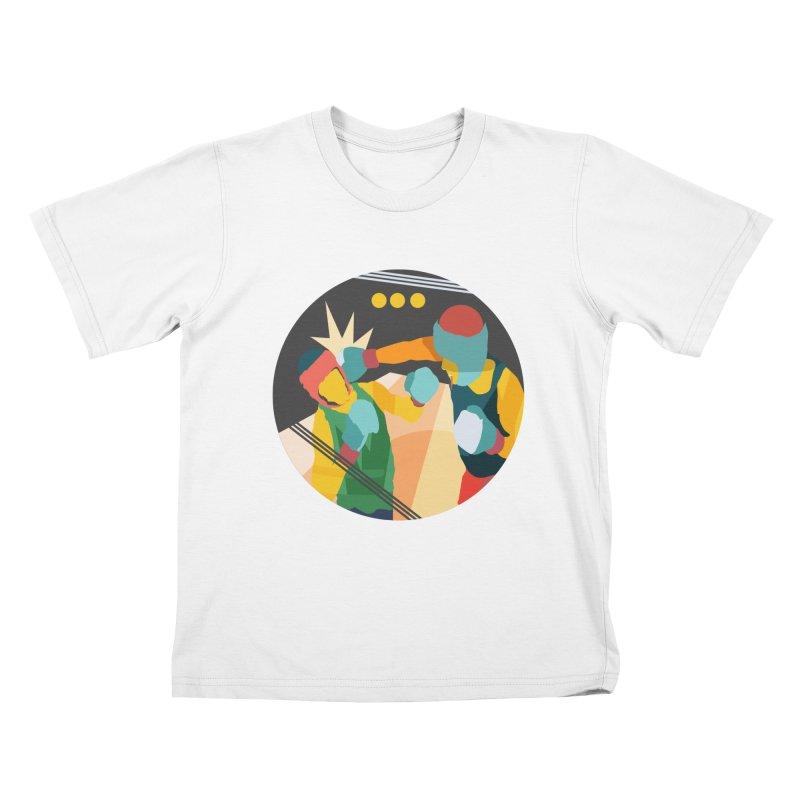 Boxing Kids T-Shirt by · STUDI X-LEE ·