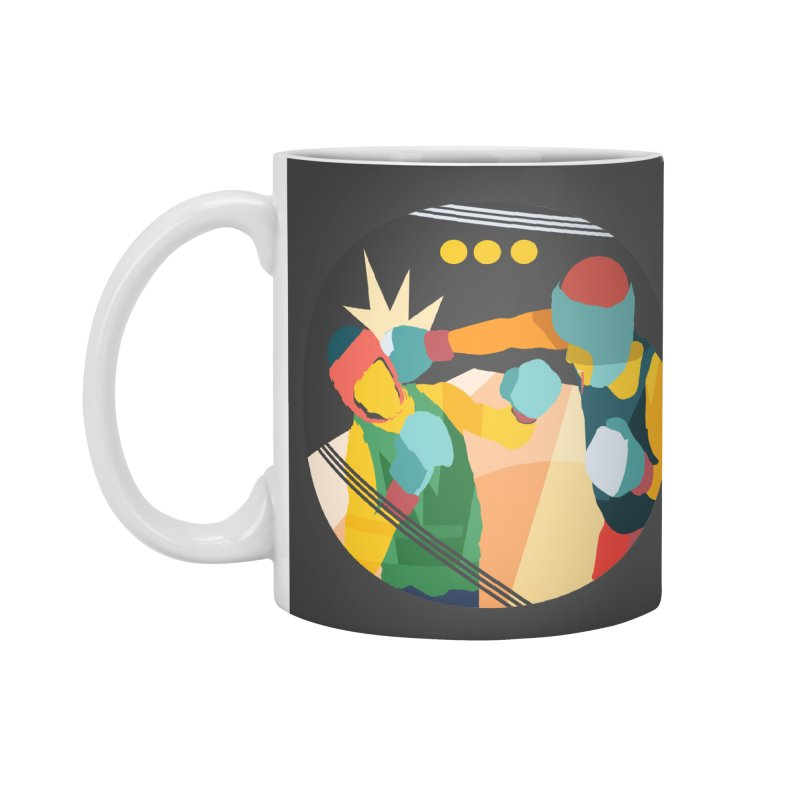 Boxing Accessories Mug by INK. ALPINA