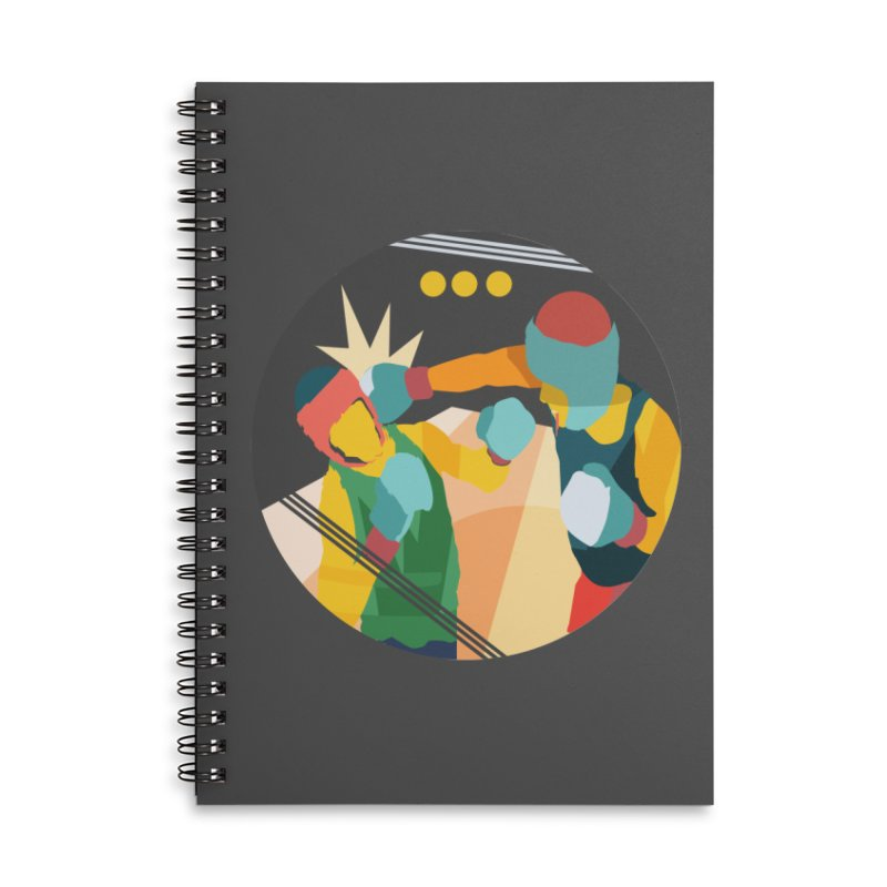 Boxing Accessories Notebook by · STUDI X-LEE ·