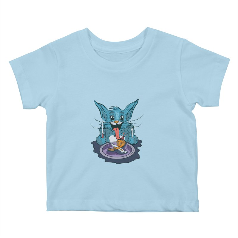 light food Kids Baby T-Shirt by INK. ALPINA