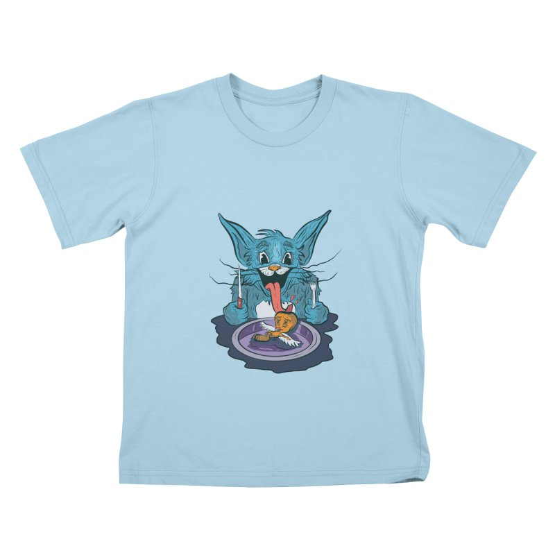 light food Kids T-Shirt by INK. ALPINA