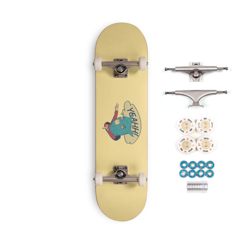 Super Hero Accessories Complete - Premium Skateboard by · STUDI X-LEE ·
