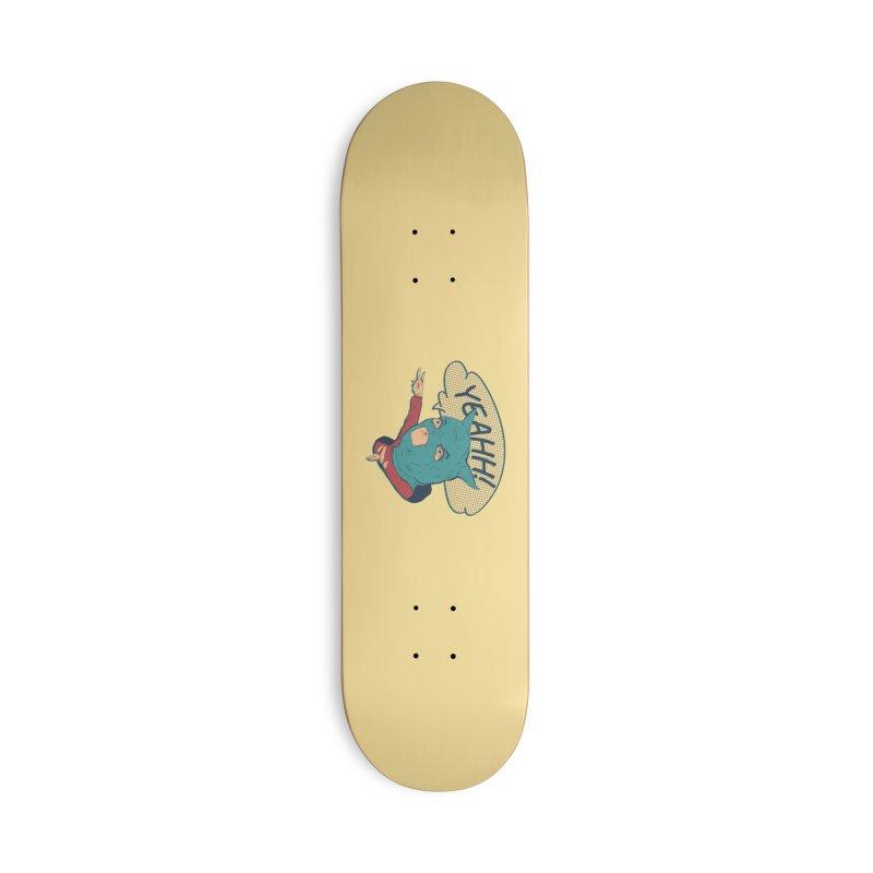 Super Hero Accessories Deck Only Skateboard by · STUDI X-LEE ·