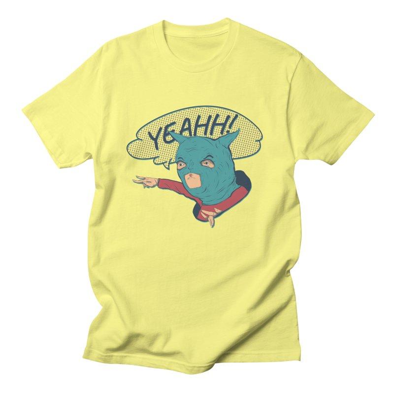 Super Hero Men's T-Shirt by · STUDI X-LEE ·