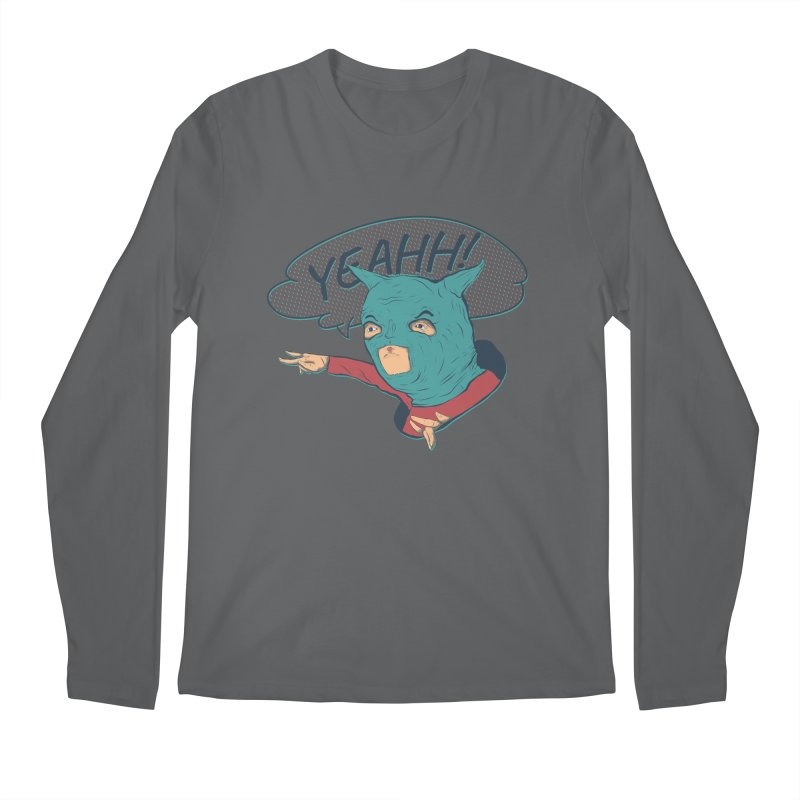 Super Hero Men's Longsleeve T-Shirt by INK. ALPINA