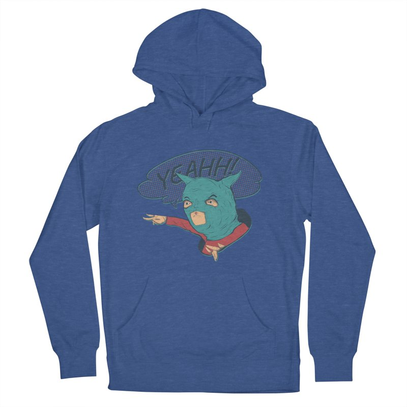 Super Hero Women's French Terry Pullover Hoody by INK. ALPINA