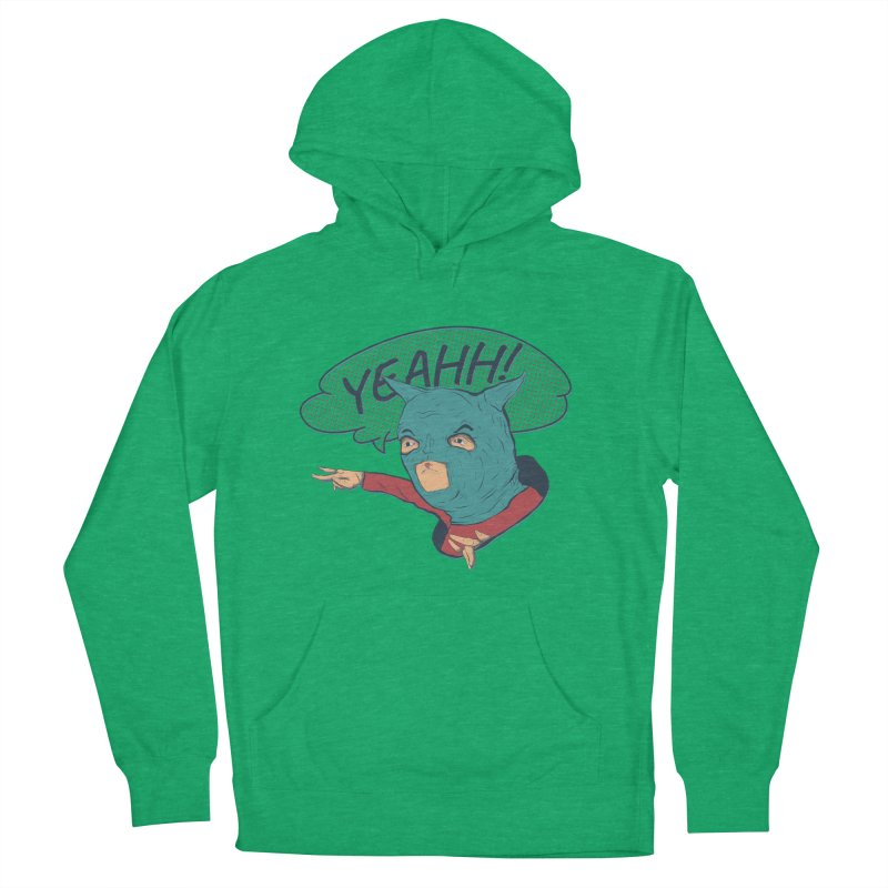 Super Hero Men's French Terry Pullover Hoody by INK. ALPINA