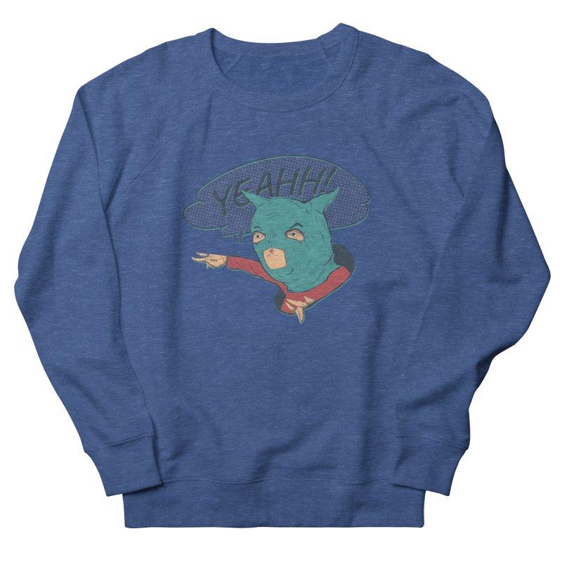 Super Hero Men's French Terry Sweatshirt by INK. ALPINA