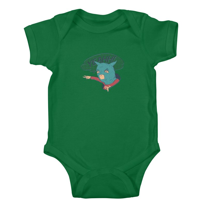 Super Hero Kids Baby Bodysuit by · STUDI X-LEE ·