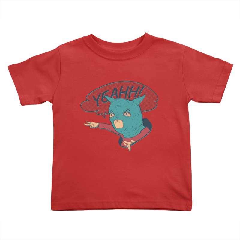 Super Hero Kids Toddler T-Shirt by INK. ALPINA