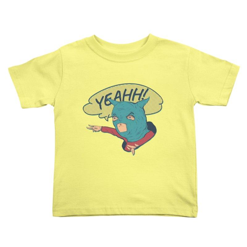 Super Hero Kids Toddler T-Shirt by · STUDI X-LEE ·