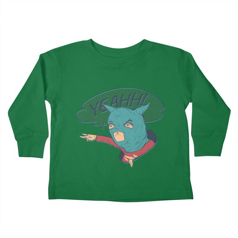 Super Hero Kids Toddler Longsleeve T-Shirt by · STUDI X-LEE ·