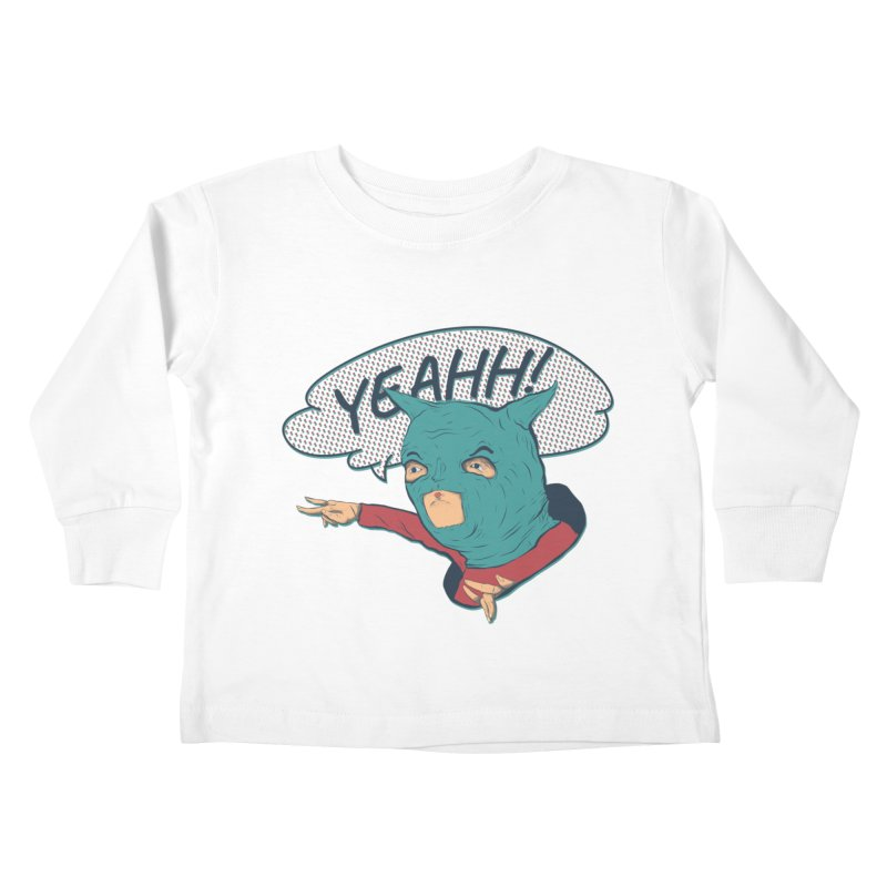 Super Hero Kids Toddler Longsleeve T-Shirt by INK. ALPINA