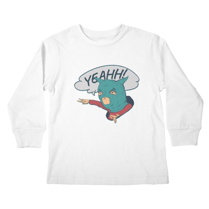 Super Hero Kids Longsleeve T-Shirt by INK. ALPINA