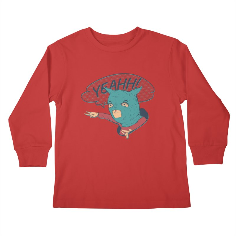 Super Hero Kids Longsleeve T-Shirt by · STUDI X-LEE ·