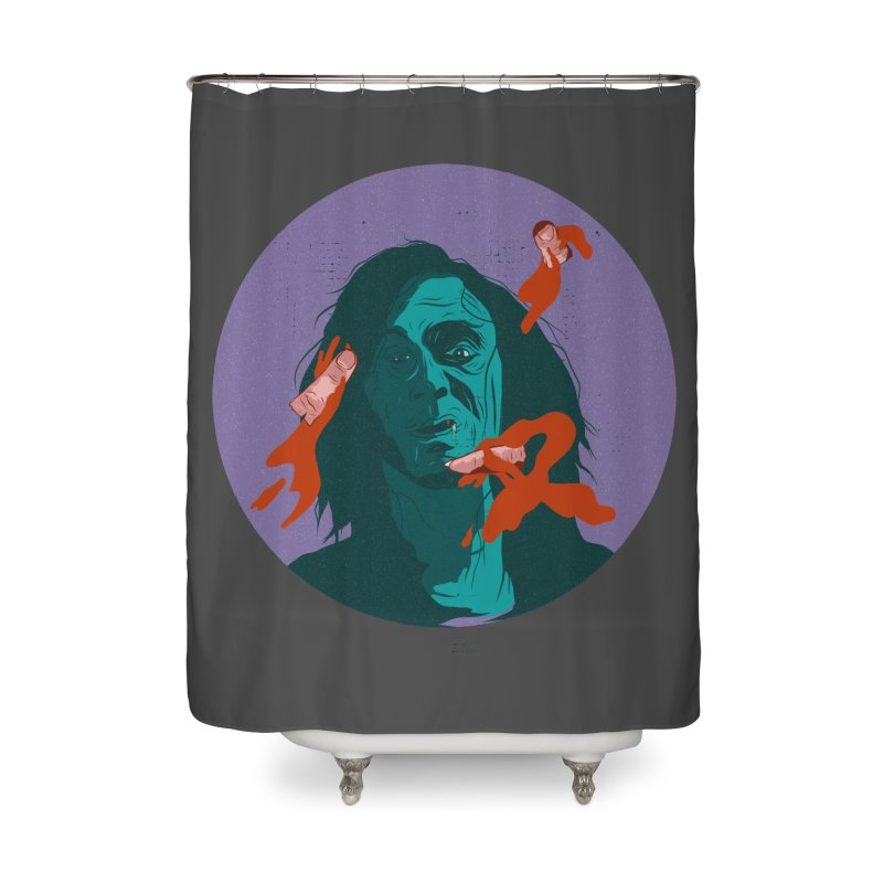 Dracula New Home Shower Curtain by INK. ALPINA