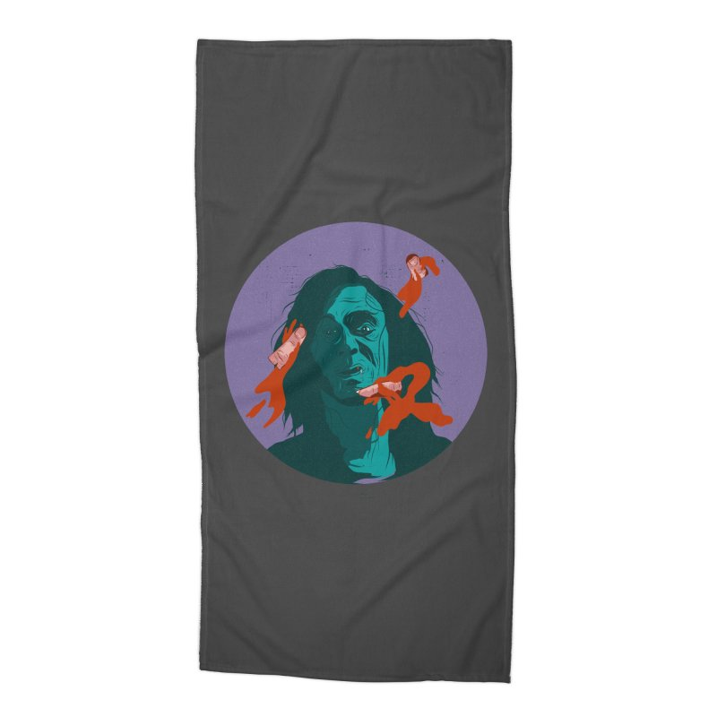 Dracula New Accessories Beach Towel by INK. ALPINA