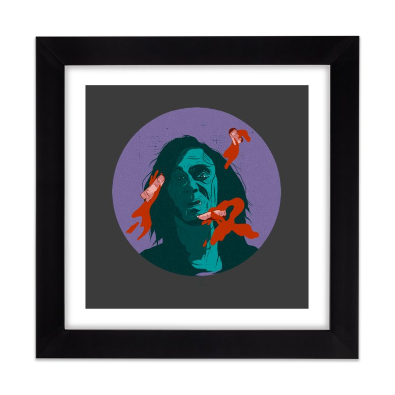 Dracula New Home Framed Fine Art Print by · STUDI X-LEE ·