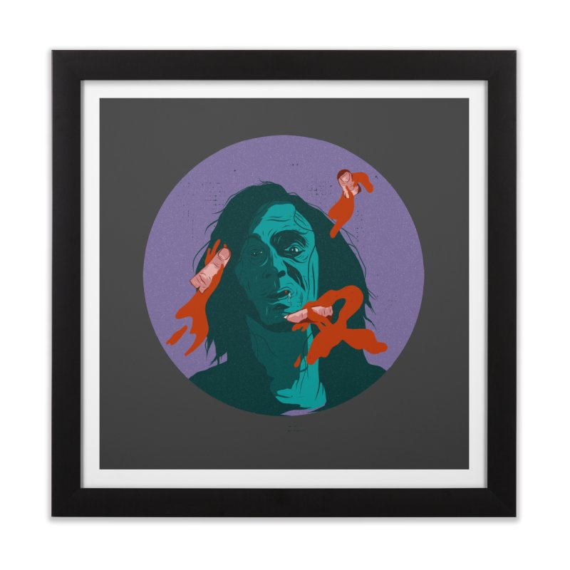 Dracula New Home Framed Fine Art Print by INK. ALPINA