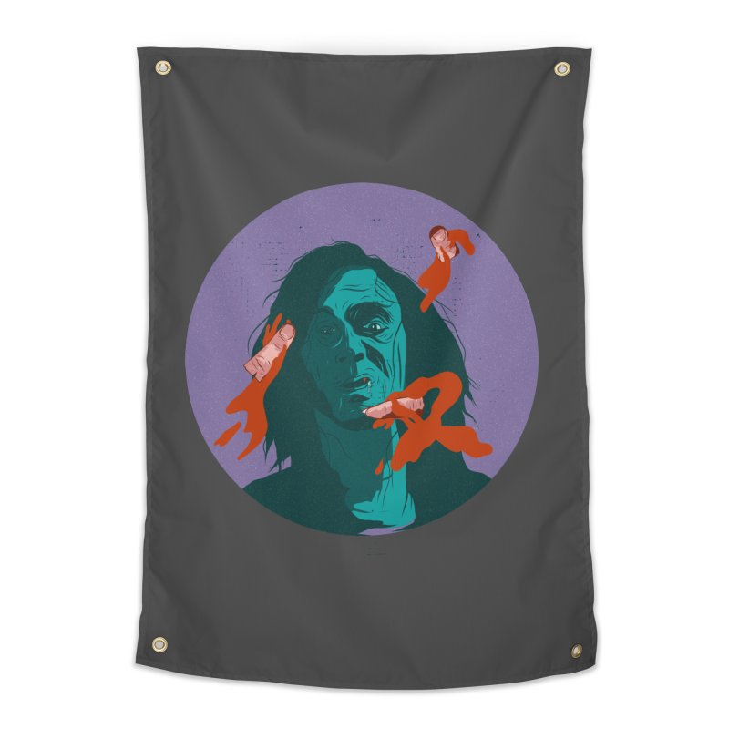 Dracula New Home Tapestry by INK. ALPINA