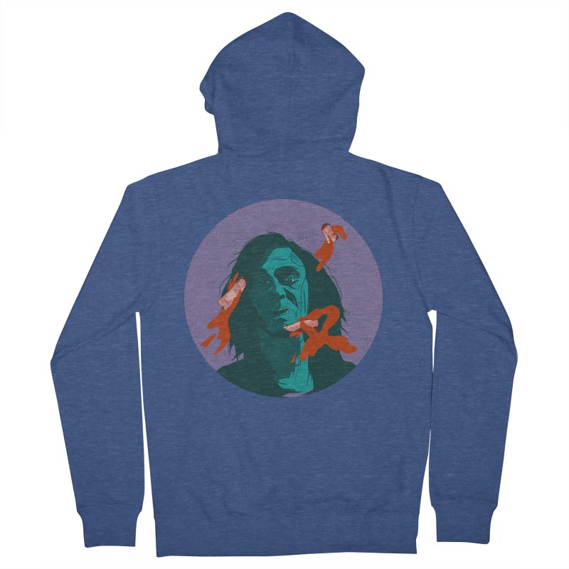 Dracula New Women's French Terry Zip-Up Hoody by · STUDI X-LEE ·