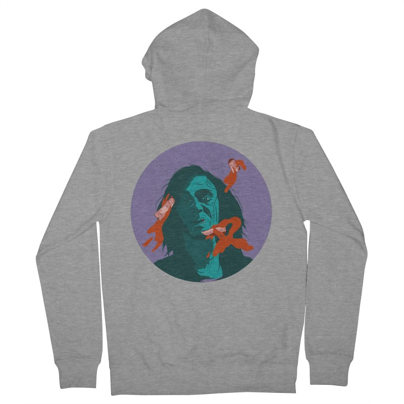 Dracula New Women's French Terry Zip-Up Hoody by INK. ALPINA