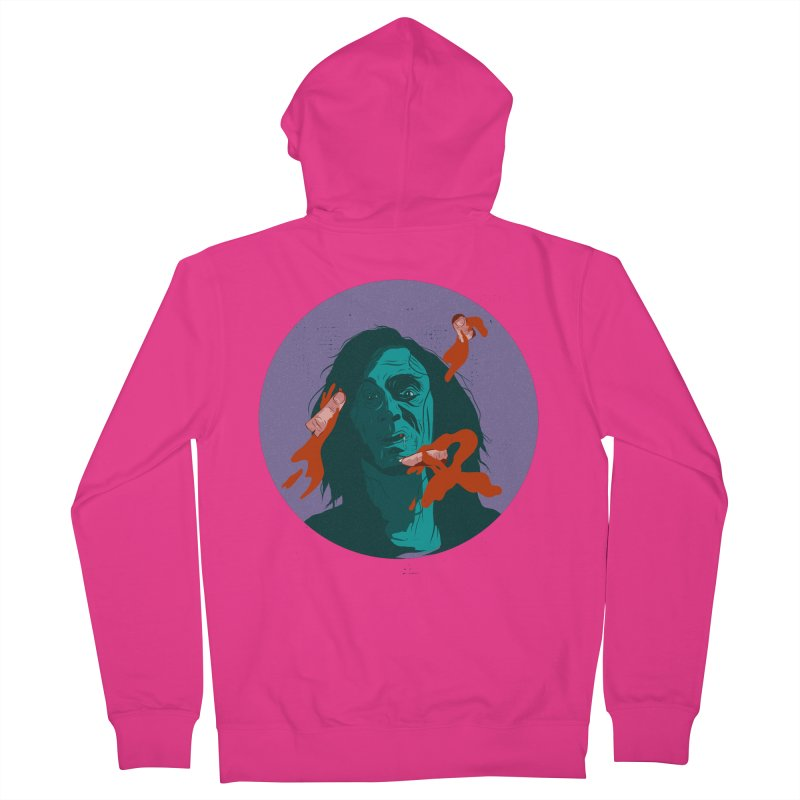 Dracula New Men's French Terry Zip-Up Hoody by INK. ALPINA