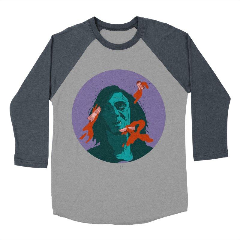 Dracula New Men's Baseball Triblend Longsleeve T-Shirt by INK. ALPINA