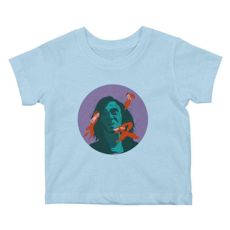 Dracula New Kids Baby T-Shirt by INK. ALPINA