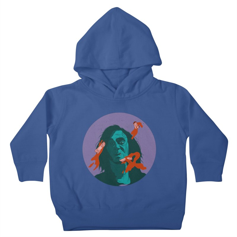 Dracula New Kids Toddler Pullover Hoody by INK. ALPINA