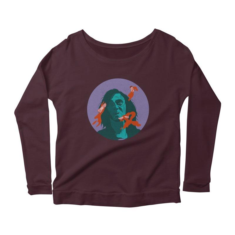 Dracula New Women's Scoop Neck Longsleeve T-Shirt by INK. ALPINA