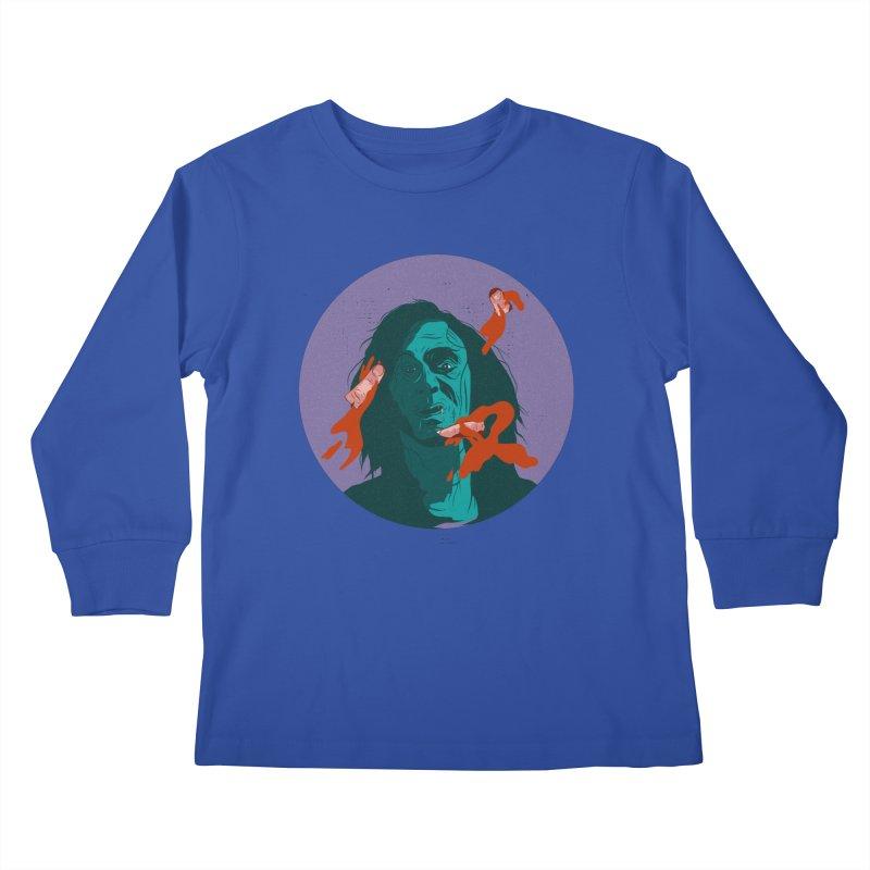 Dracula New Kids Longsleeve T-Shirt by · STUDI X-LEE ·