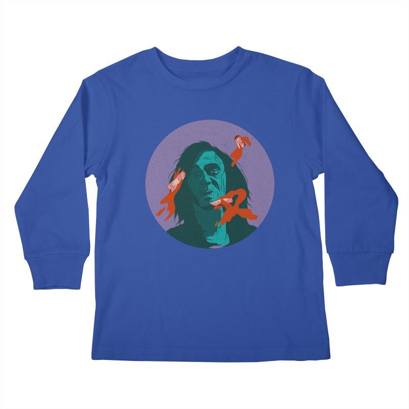 Dracula New Kids Longsleeve T-Shirt by INK. ALPINA