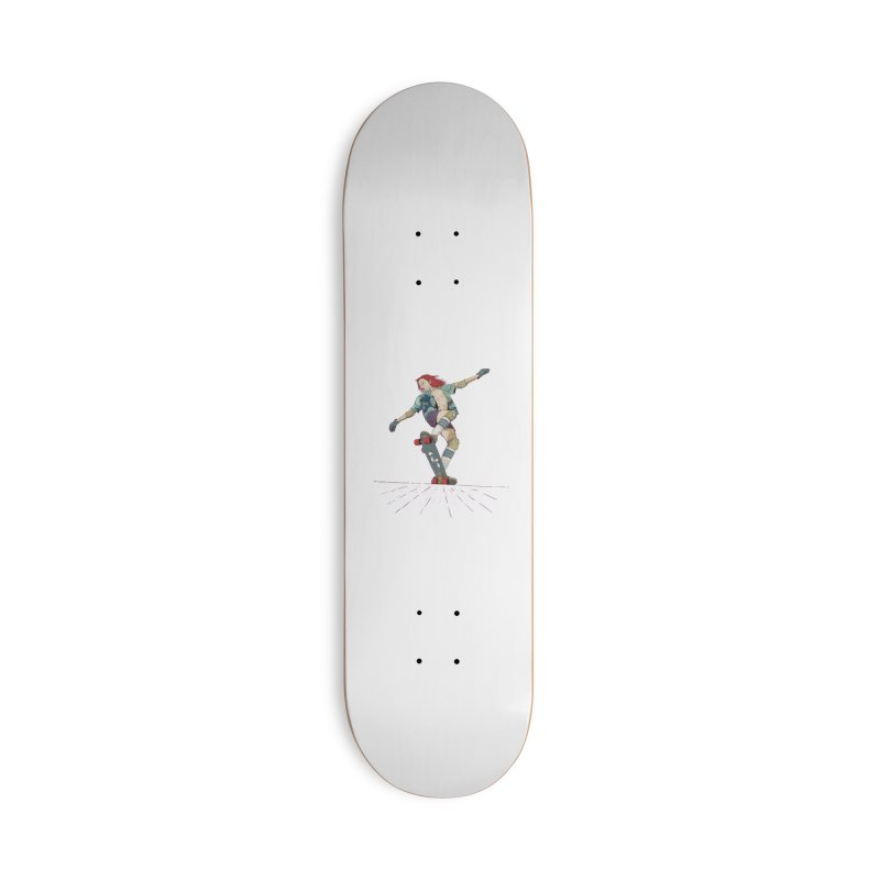 Skater Red Accessories Deck Only Skateboard by · STUDI X-LEE ·