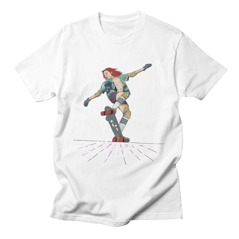 Skater Red Men's T-Shirt by · STUDI X-LEE ·