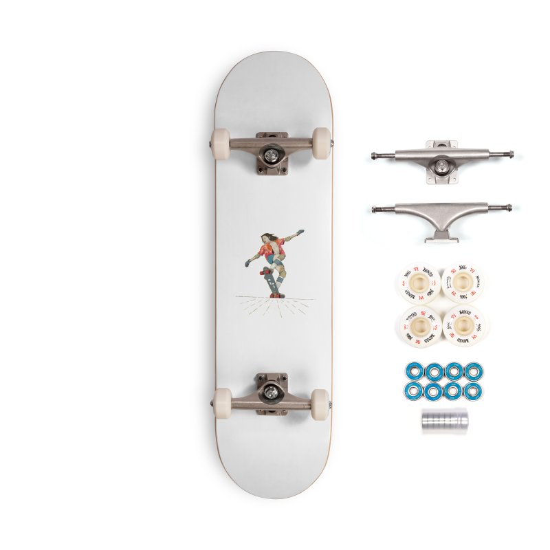 Skater Negra Accessories Skateboard by · STUDI X-LEE ·