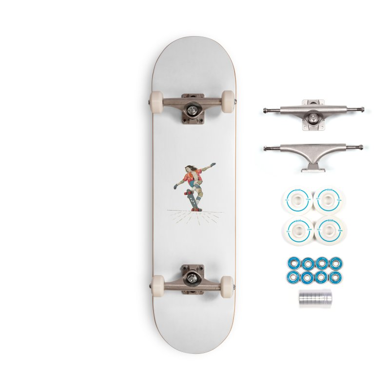 Skater Negra Accessories Complete - Basic Skateboard by · STUDI X-LEE ·