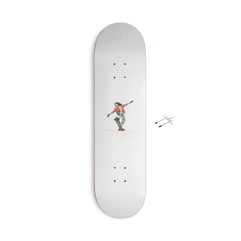 Skater Negra Accessories Skateboard by · STUDI X-LEE ·