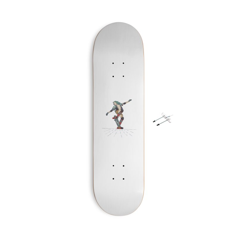 Skater Verd Accessories With Hanging Hardware Skateboard by · STUDI X-LEE ·