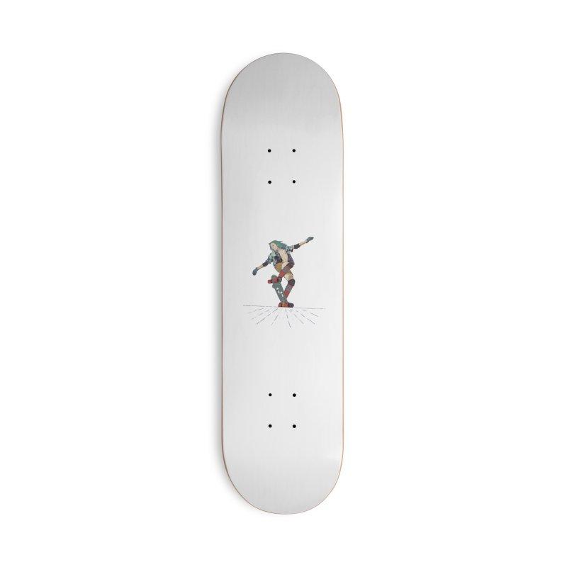 Skater Verd Accessories Deck Only Skateboard by · STUDI X-LEE ·