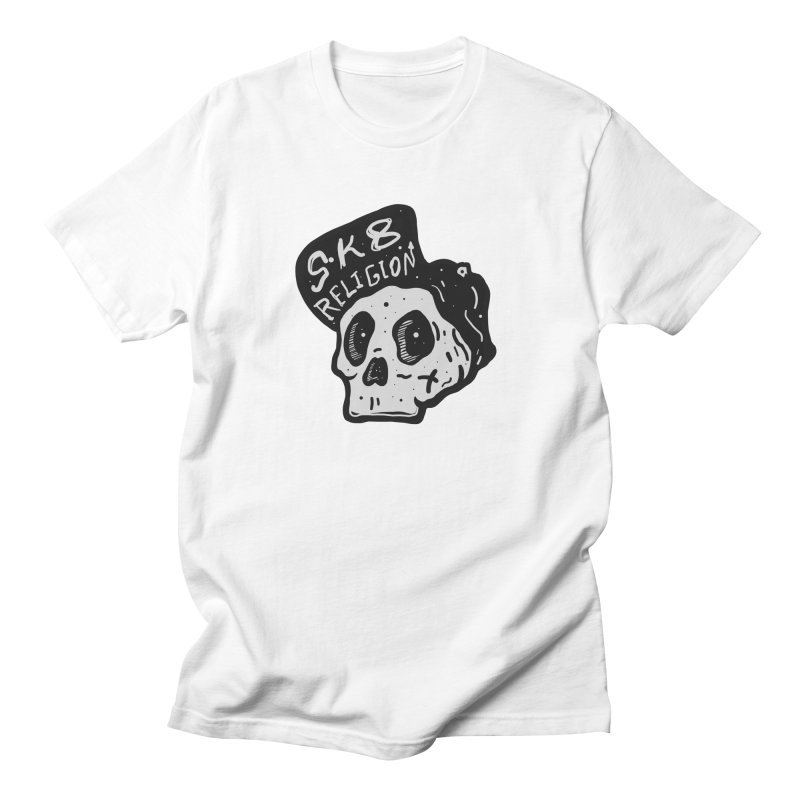 SK8 RELIGION Men's T-Shirt by · STUDI X-LEE ·