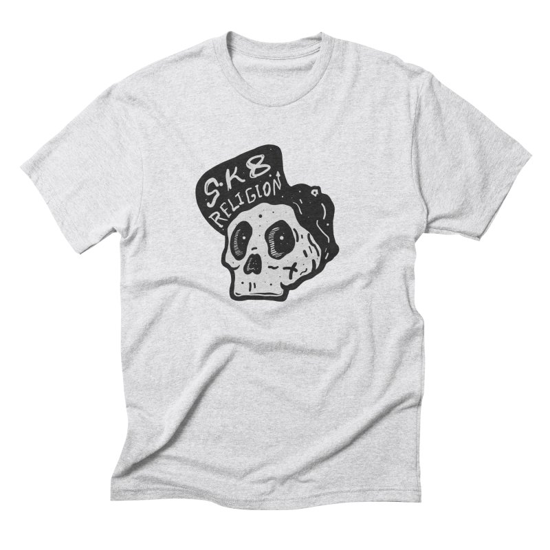 SK8 RELIGION Men's Triblend T-Shirt by INK. ALPINA