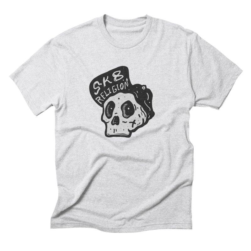 SK8 RELIGION Men's T-Shirt by · STUDI X-LEE ·