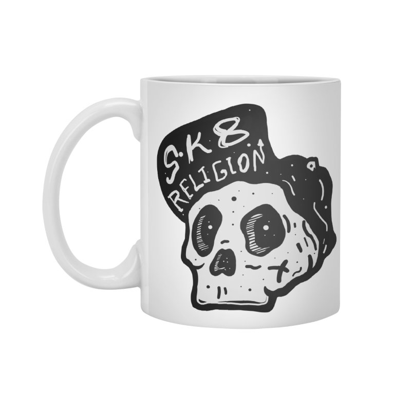 SK8 RELIGION Accessories Mug by INK. ALPINA