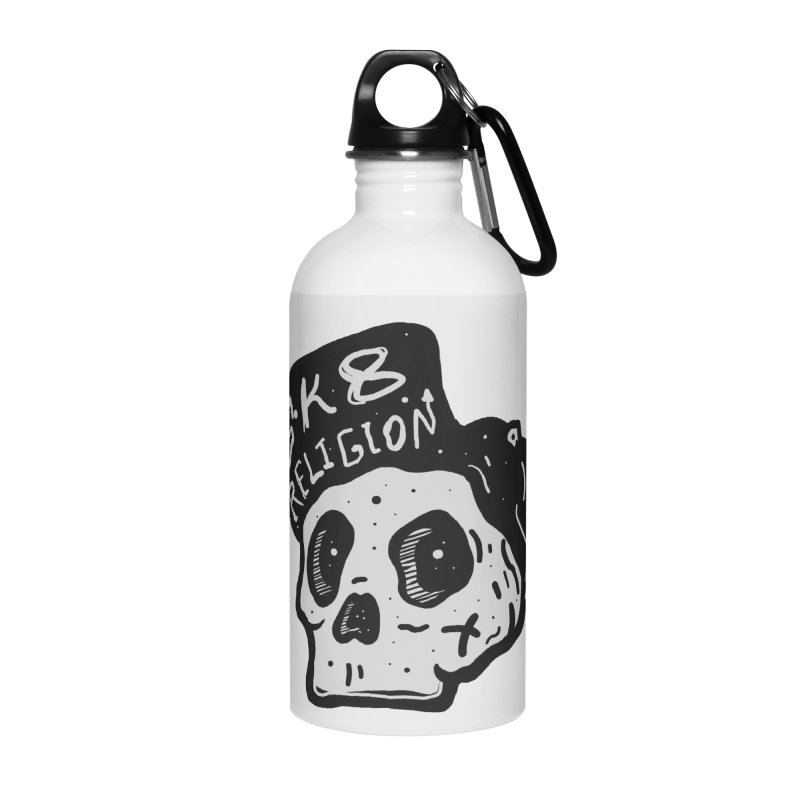 SK8 RELIGION Accessories Water Bottle by INK. ALPINA