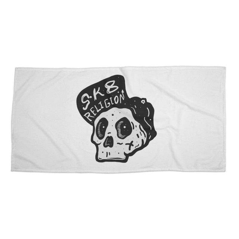 SK8 RELIGION Accessories Beach Towel by · STUDI X-LEE ·