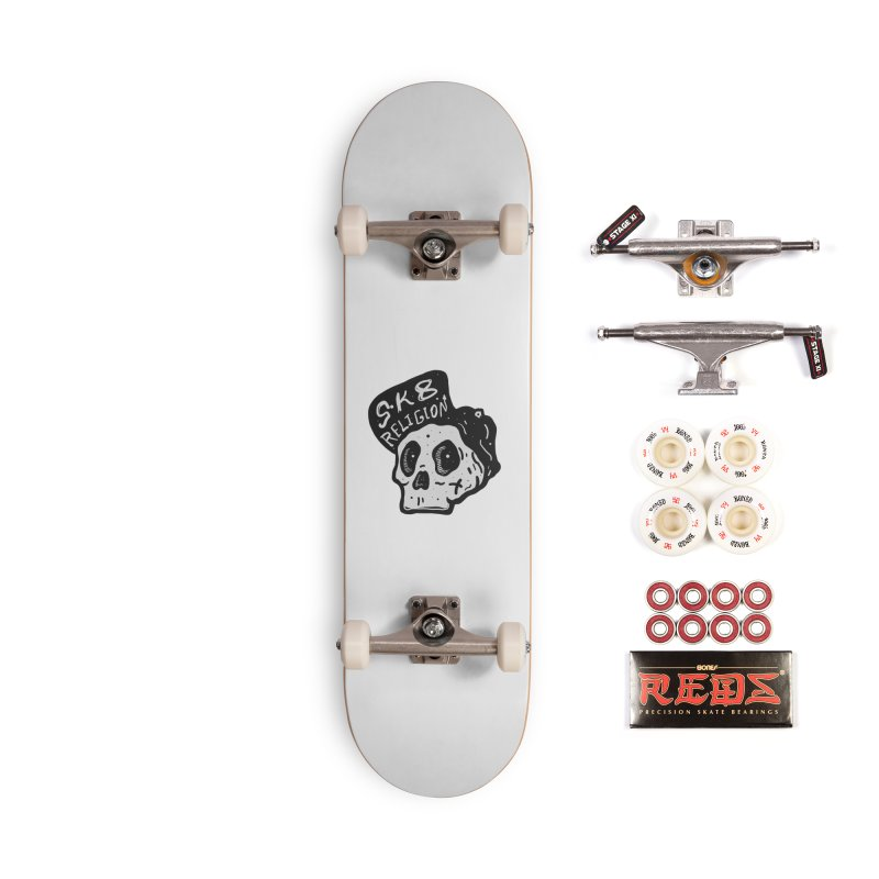 SK8 RELIGION Accessories Skateboard by · STUDI X-LEE ·