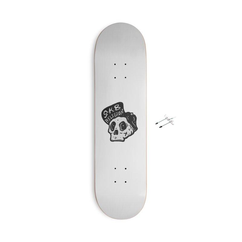 SK8 RELIGION Accessories Skateboard by · STUDI X-LEE ·
