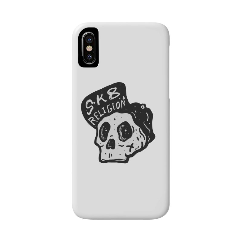SK8 RELIGION Accessories Phone Case by INK. ALPINA
